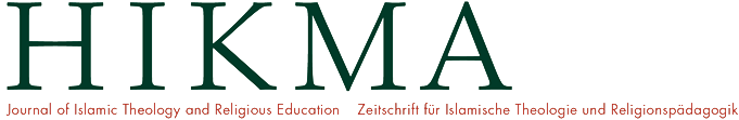 (Deutsch) HIKMA – Zeitschrift für Islamische Theologie und Religionspädagogik